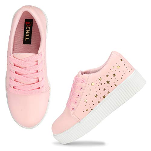 Denill Latest Collection Comfortable Fashionable Sneaker Shoes For Women S And Girl S Tenangles