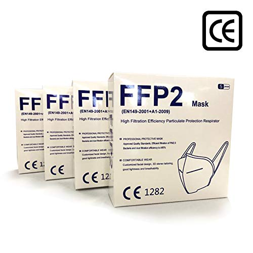 MediWeave KN95 / FFP2 Face Mask (Pack of 5) - Tenangles